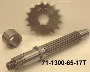 RI Hayabusa Billet HD Output Shaft