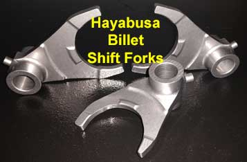 MRP Billet Shift Forks Hayabusa